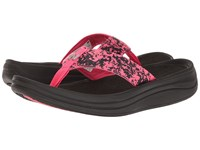 New Balance Revive Sport Thong Black Pink Women's Sandals