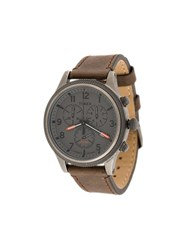 Timex Allied Lt Chronograph Watch Brown
