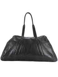 Julius Large Holdall Bag Black