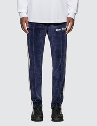 Palm Angels Chenille Track Pants Blue