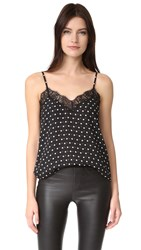 The Kooples Small Dots Cami Black