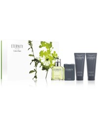 Calvin Klein 4 Pc. Eternity For Men Gift Set No Color
