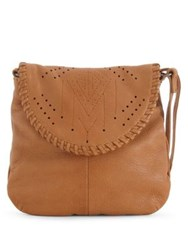 Day And Mood Melody Leather Crossbody Bag Cognac