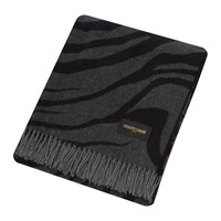Roberto Cavalli Limited Edition Macro Zebrage Throw 140X180cm