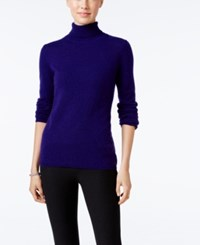 Charter Club Cashmere Turtleneck Sweater Only At Macy's 16 Colors Available Wine Frost