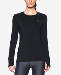 Under Armour Long Sleeve Heatgear Top Black
