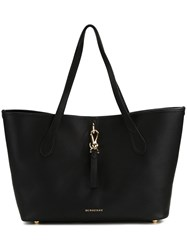Burberry Double Handles Large Tote Black