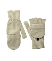Converse Core Mitten Flip Gloves Frayed Burlap Extreme Cold Weather Gloves Brown