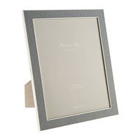 Addison Ross Grey Faux Shagreen Photo Frame 8X10