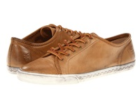 Frye Mindy Low Camel Soft Vintage Leather Women's Lace Up Casual Shoes Tan