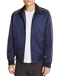 Vince Coach Jacket 100 Bloomingdale's Exclusive Navy