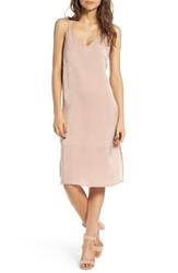 Soprano Women's Satin Slipdress Near Nude