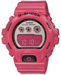 G Shock Women's Digital Pink Resin Strap Watch 49X46mm Gmds6900cc 4