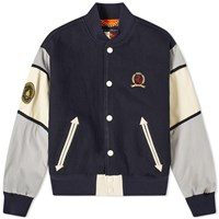 Tommy Jeans Hilfiger Collection Nautical Varsity Jacket Blue