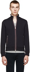 Moncler Navy French Terry Jacket