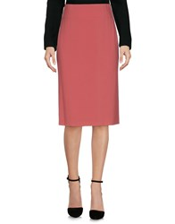 Aspesi Knee Length Skirts Pink