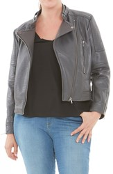 Elvi Plus Size Women's Biker Jacket