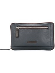 Cerruti 1881 Zipped Clutch Black