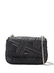 Dkny Allen Large Shoulder Bag Black