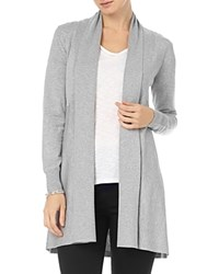 Phase Eight Lili Longline Cardigan Grey Marl