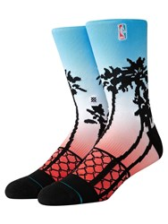 Stance Logoman Palms Socks Multicolor