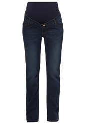 Esprit Maternity Straight Leg Jeans Darkwash Dark Blue