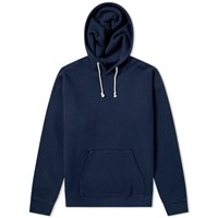 Beams Plus Popover Hoody Blue