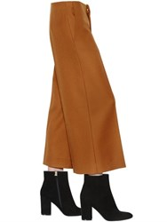 Marni Cropped Light Twisted Flannel Pants