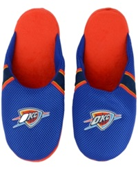 Forever Collectibles Oklahoma City Thunder Jersey Slippers Blue
