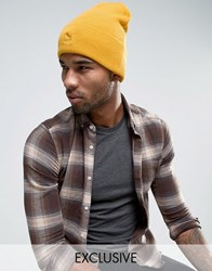 Puma Archive No 1 Beanie In Yellow Exclusive To Asos 02142803 Yellow