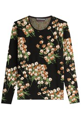 Rochas Printed Pullover Florals