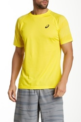 Asics Court Graphic Shirt Yellow