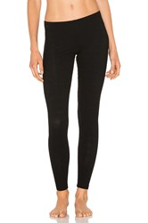 Only Hearts Club French Terry Poor Boy Rib Legging Black