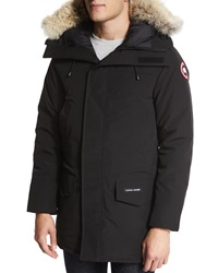 Canada Goose Langford Parka With Fur Trimmed Hood Black