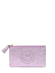 Anya Hindmarch Smiley Crackled Leather Coin Purse