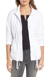 James Perse Women's Jersey Lined Surplus Jacket White