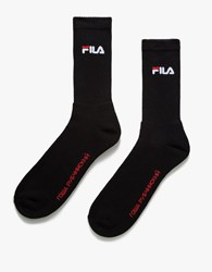 Gosha Rubchinskiy Fila Socks Black Grey
