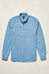 Cpo Stevens Denim Button Down Shirt Indigo