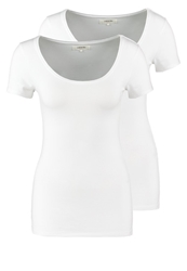 Zalando Essentials 2 Pack Basic Tshirt White White