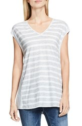 Vince Camuto Women's Two By Stripe Tee