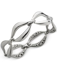 Nambe Braid Link Bracelet In Sterling Silver Only At Macy's