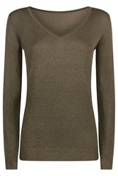 Damsel In A Dress Vita Jumper Khaki