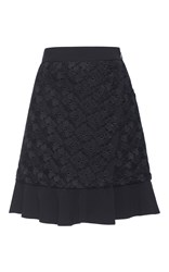Ungaro Emanuel Embroidered Miniskirt Black