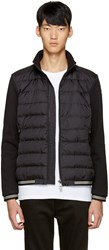 Moncler Black Down Maglia Sweater