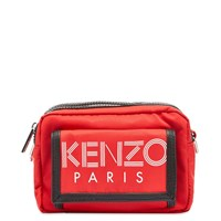 Kenzo Paris Sport Large Cross Body Bag Red