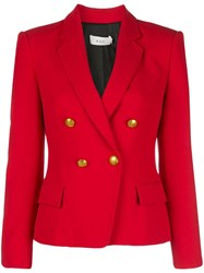 A.L.C. Double Breasted Blazer Red
