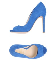 Le Stelle Pumps Blue