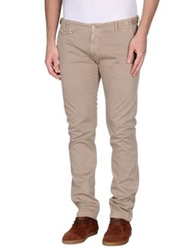 Truenyc. Casual Pants Brown