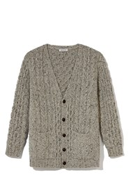 Daughter The Donegal Aran Cardigan Grey