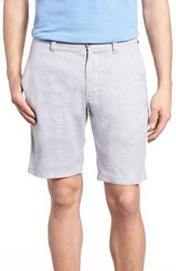Tommy Bahama Beach Linen Blend Shorts Storm Gray